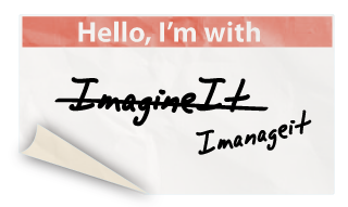 Its not Imagineit. its Imanageit.